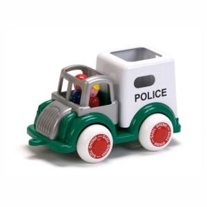 Policja z figurkami duża