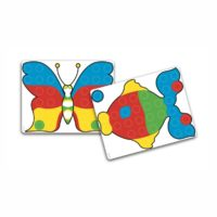 Zestaw Fantacolor 400 kołeczków, 48 szablonów, 10 tablic